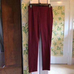 Theory skinny stretch pants